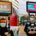 UK Gov't Hires Men To Stand In Public With TV On Head For Pandemic Propaganda